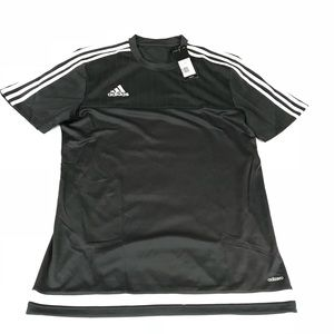 ADIDAS ADIZERO DARK GRAY NWT MENS SHIRT MEDIUM